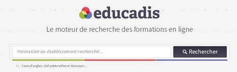 educadis.fr - Le moteur de recherche des formations en ligne | Time to Learn | Scoop.it