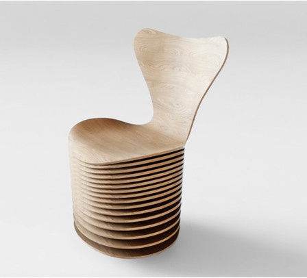 BIG, Jean Nouvel, and 5 Others Reinterpret Arne Jacobsen's Series 7 Chair | ArchDaily | Designed for Form and Function ....Chairs and Other Objects | Scoop.it