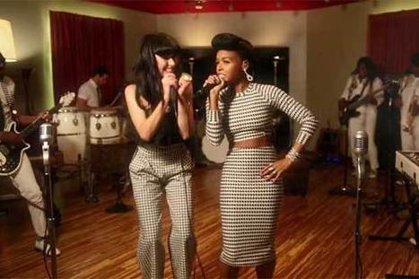 Video: Janelle Monae & Kimbra Announce The Golden Electric Tour with a Music Video   Classy not Trashy   Scoop.it