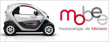 Mobee, un service d'autopartage de véhicules électriques à Monaco - Webtimemedias.com | CarSharing | Scoop.it
