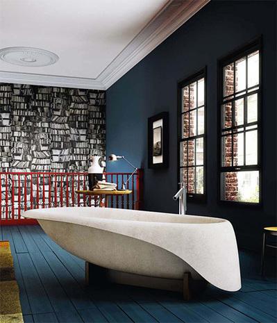 Modern Concrete Bathtub by Glass Idromassaggio | Le béton créatif et poétique | Scoop.it