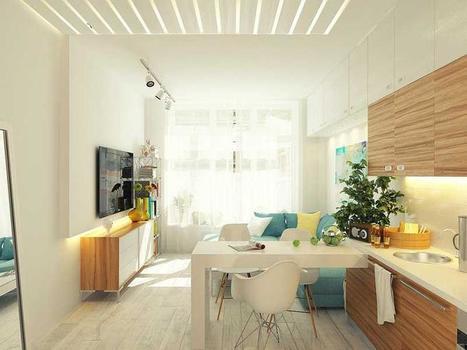 Tiny Kitchen Ideas | CarsPiece | Scoop.it