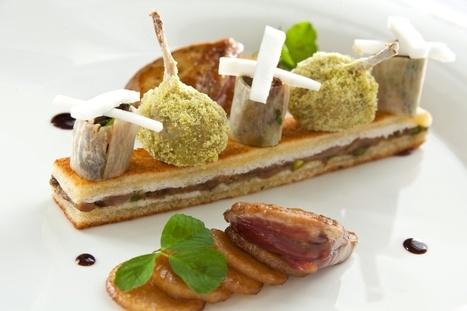 Les desserts végétaux de Sébastien Bertin au Saint-James Bouliac | Gastronomie Française 2.0 | Scoop.it