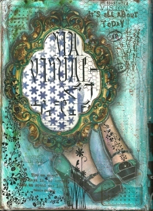 Art Journaling « Kim's Kreative Korner | Motivating Student lear0ning | Scoop.it