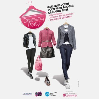 "Dressing Party"" : mettez en vente vos fringues dans des centres commerciaux 