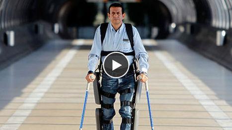 Exosquelettes : le premier modèle destiné aux paraplégiques homologué aux USA | innovation, technologie, nouvelles idées | Scoop.it