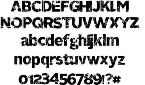 321 Perfect font by homebrew - FontRiver | Communication | Scoop.it
