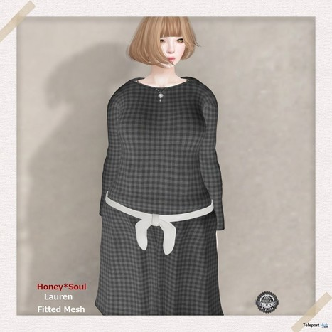 Lauren Fitted Mesh Dress Group Gift By Honey Soul   Teleport Hub - Second Life Freebies   Second Life Freebies   Scoop.it