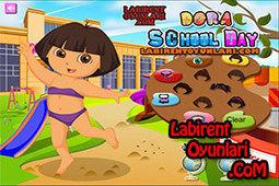 Dora Okula Gidiyor | oyunlar,oyun oyna,bedava oyunlar,labirent oyunları | Scoop.it