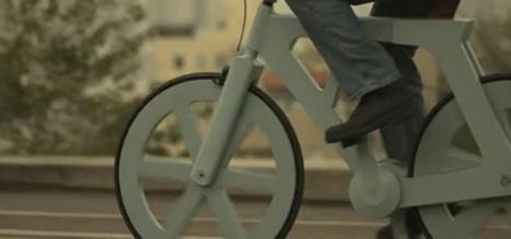 Un vélo en carton qui peut être construit pour moins de $15 | MonPetitBiz | Fourre tout Numerik | Scoop.it