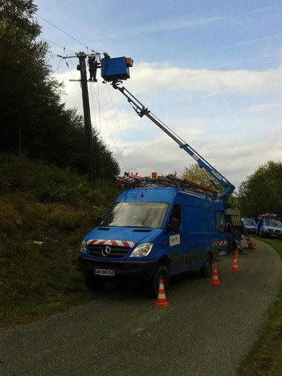 ERDF modernise le réseau 20 000 volts à Payolle - Tarbes-infos.com | Vallée d'Aure - Pyrénées | Scoop.it