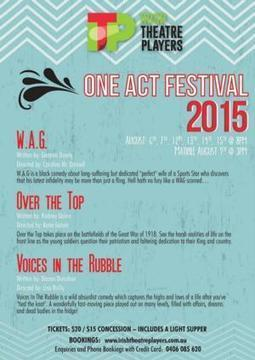 Irish Theatre Players to Host 2015 One Act Festival - Broadway World | The Irish Literary Times | Scoop.it