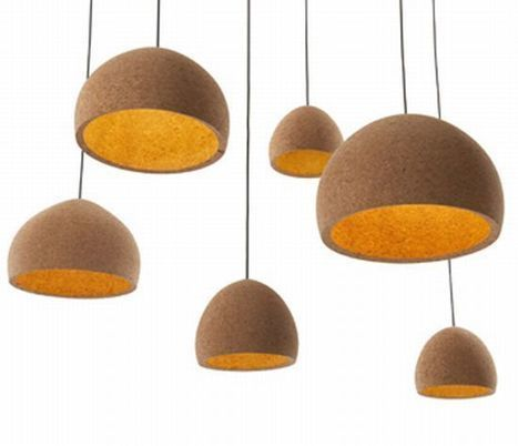Recycled Cork Lights | scatol8® | Scoop.it