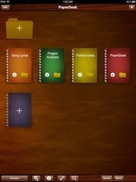 Carry All of Your Notebooks in One Simple App With PaperDesk- iPad App Review | PadGadget | APPY HOUR | Scoop.it