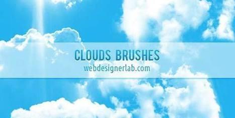 +100 brushes gratuites de nuages | Neadkolor.com | Articles du graphiste Nead Kolor | Scoop.it