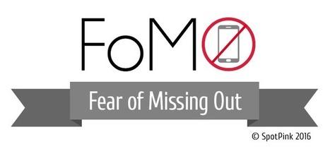 #Infographie Etude sur la prévalence du 'FoMO' et le 'SME' en France | SpotPink | le 2.0 à mon service | Scoop.it