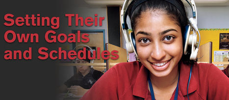 Setting Their Own Goals and Schedules - Professionally Speaking - December 2010 | School libraries and learning | Scoop.it