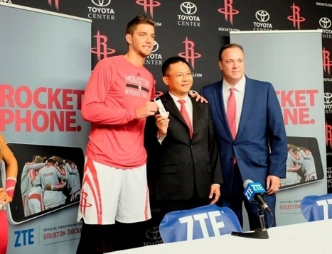 Houston Rockets' Partnership With ZTE Leads NBA's Charge Into China - Forbes   Sports Organizational Culture   Scoop.it