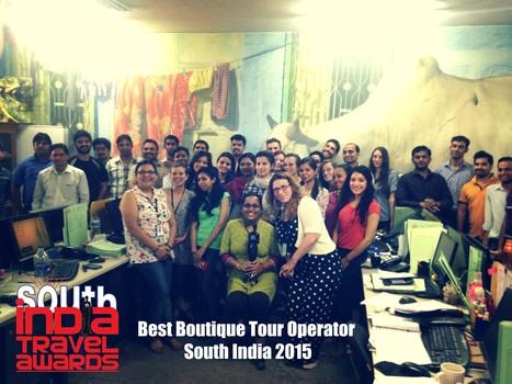 Shanti Travel élue meilleure agence locale sur mesure d'Inde du Sud 2015 | Actu & Voyage en Inde | Scoop.it