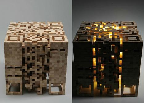 Junkculture: QRCODE LAMPE   artcode   Scoop.it