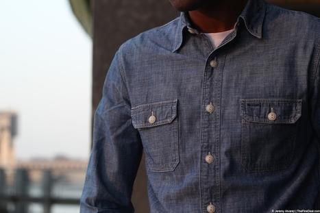 RRL | Matlock Chambray Shirt | Men's style | Scoop.it
