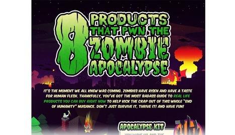 8 Products that PWN the Zombie Apocalypse | Burn Ur Money | Avengers 2 Trailer | Scoop.it