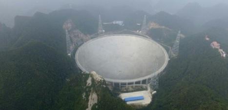 La Chine se dote d'un radiotélescope géant pour débusquer les extraterrestres   ça m intéresse !   Scoop.it