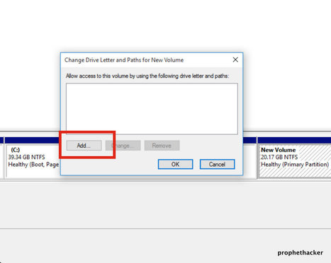 How to Hide Any Drive in Windows 10 without Command Prompt | prophethacker | Scoop.it