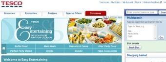 Tesco profite des fêtes pour lancer son service e-Traiteur   La Revue Webmarketing   Scoop.it