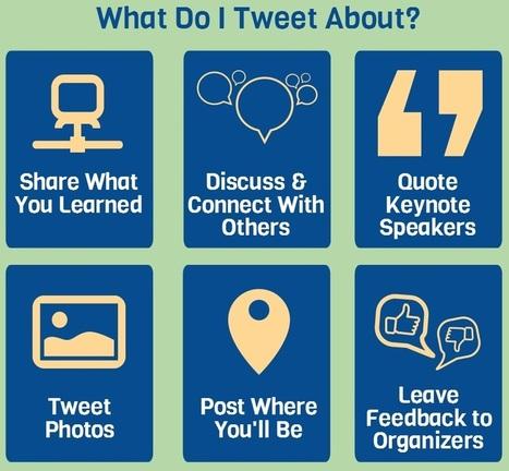 8 conseils pour tirer le meilleur de Twitter pendant une conférence | Sud-Ouest intelligence économique | Scoop.it