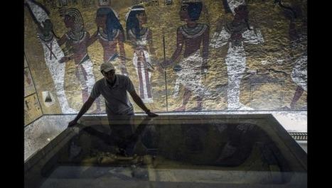 Le tombeau de Néfertiti, épouse de Toutankhamon, bientôt mis au jour ? | L'actu culturelle | Scoop.it
