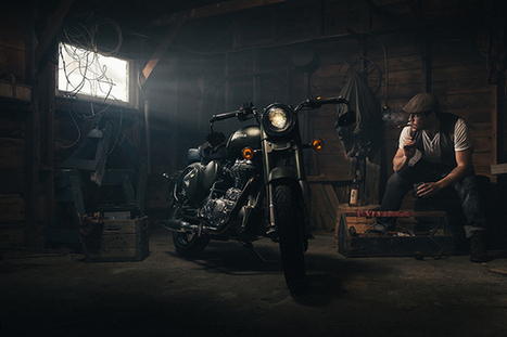 How You Shot It: Dramatic Royal Enfield Motorcycle Portrait | FOTOGRAFIA Y VIDEO HDSLR PHOTOGRAPHY & VIDEO | Scoop.it