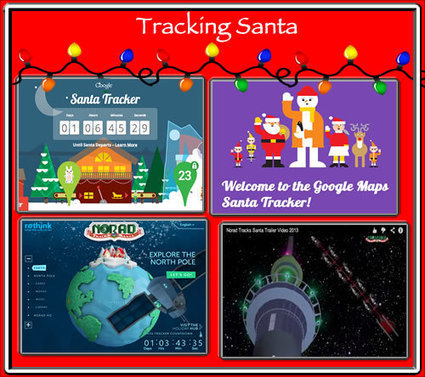 Cool Tools for 21st Century Learners: 2 Ways to Track Santa in 2013 | Непрерывное образование | Scoop.it