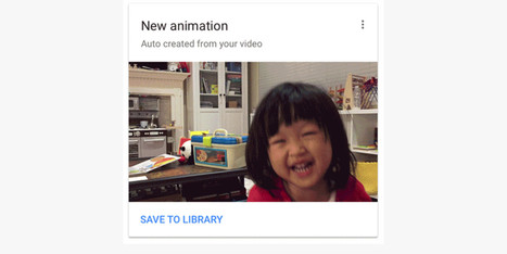 Google Photos now creates shareable GIFs from your videos | Social Media, SEO, Mobile, Digital Marketing | Scoop.it