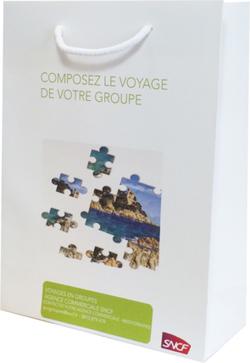 Le sac publicitaire luxe réalisé pour la SNCF   Sac luxe publicitaire   Scoop.it