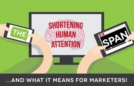 The Shortening Human Attention Span - Visual Contenting | Visual Marketing & Social Media | Scoop.it