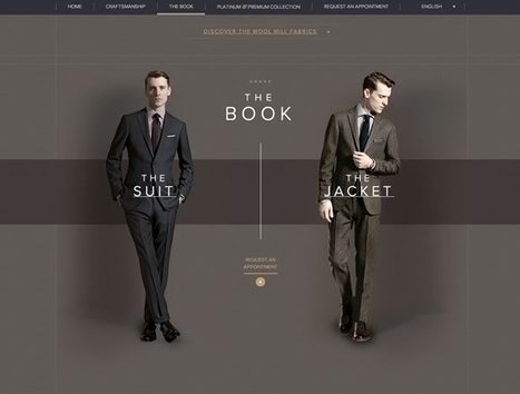 21 Beautiful Examples of Dark Colors in Web Design | Inspiration | Web and graphic design | Scoop.it