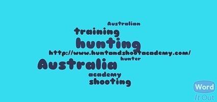 hunter training in Australia | Australian shooting academy | Scoop.it
