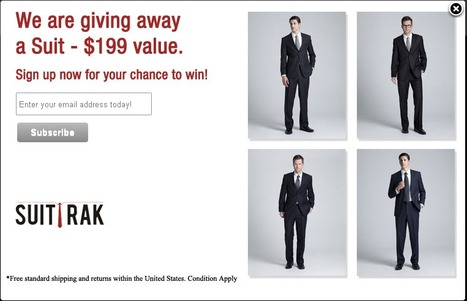 Signup now for your chance to win! | Men Tailored Suits | Scoop.it