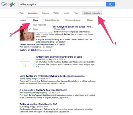 Le blog de Recherche-eveillee.com: Google intègre la recherche de blogs dans les actualités | Sciences de l'Information | Scoop.it