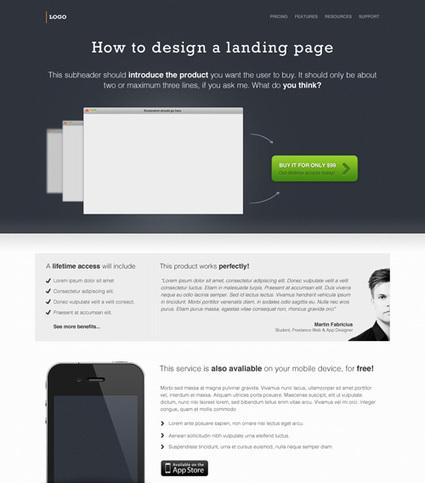 Designing Killer Web UI Layouts with Freebies | Designer's Resources | Scoop.it