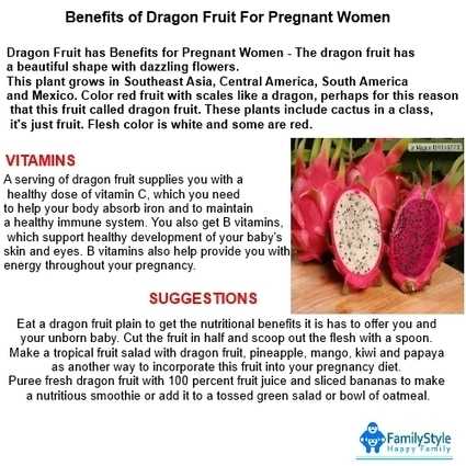 FamilyStyle: Benefits of Dragon Pregnant Fruit women | yes | Scoop.it