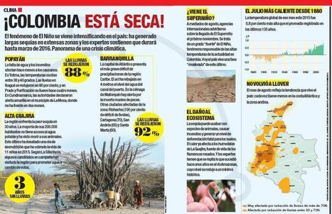 ¡Colombia está seca! | Agua | Scoop.it