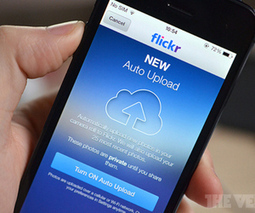 Flickr iOS 7 app now automatically uploads photos to your... - The Verge | Macwidgets..some mac news clips | Scoop.it
