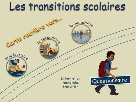 Les transitions scolaires | Learn to learn competencies supported by ICT | Scoop.it