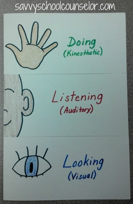 The 3 Learning Styles | Savvy School Counselor | VaculinCounseling | Scoop.it