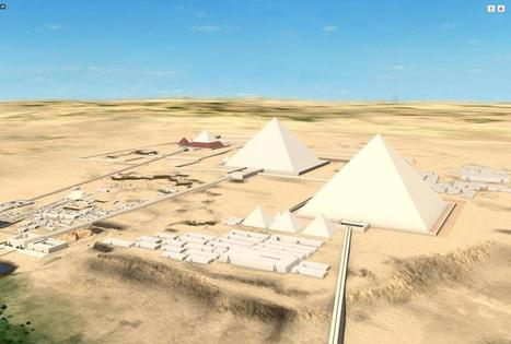 Pyramids of Giza in Egypt | KNOWING............. | Scoop.it