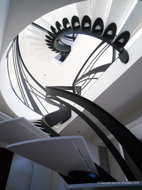 Escalier d'art sculptural | Escalier Design Mobilier Contemporain de style Art Nouveau | Scoop.it