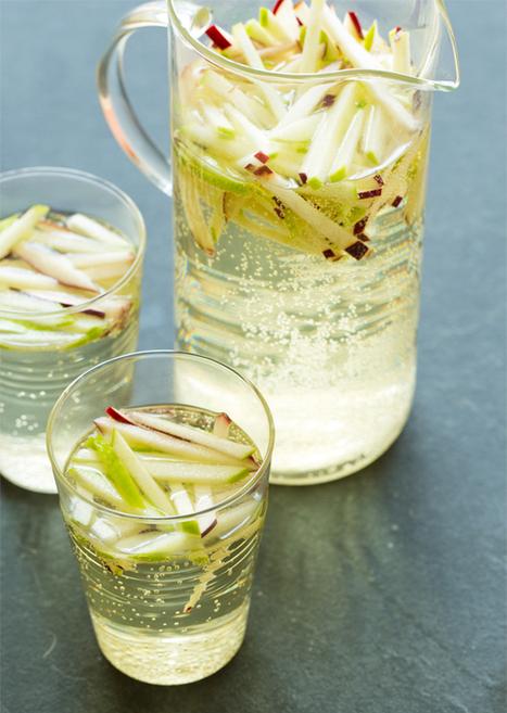 Sparkling Apple Sangria   À Catanada na Cozinha Magazine   Scoop.it