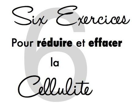 6 exercices simples pour réduire la cellulite ! | Vaincre la cellulite | Scoop.it